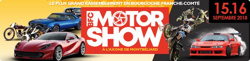 Liste des exposants BFc Motor Show - 2018